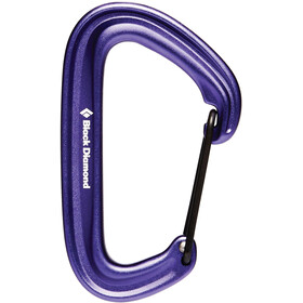 Black Diamond Litewire Mosquetón, purple